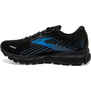 Brooks GTX® Ghost 13 Laufschuhe Herren black-grey-blue