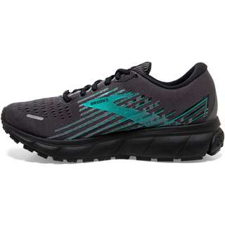Brooks GTX® Ghost 13 Laufschuhe Damen black-black-peacock