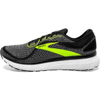 Brooks Glycerin 18 Reflective Laufschuhe Damen black-white-nightlife