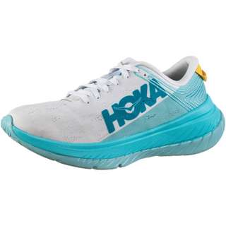 Hoka One One Carbon X Laufschuhe Damen white-angel blue