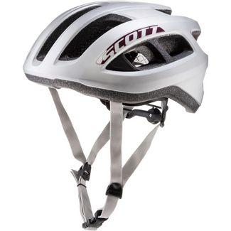 SCOTT SCO Helmet Supra Road (CE) Fahrradhelm vogue silver
