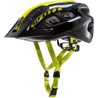 SCOTT SCO Helmet Supra (CE) Fahrradhelm black-radium yellow
