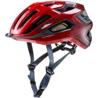 SCOTT SCO Helmet Arx Plus (CE) Fahrradhelm fiery red-storm grey