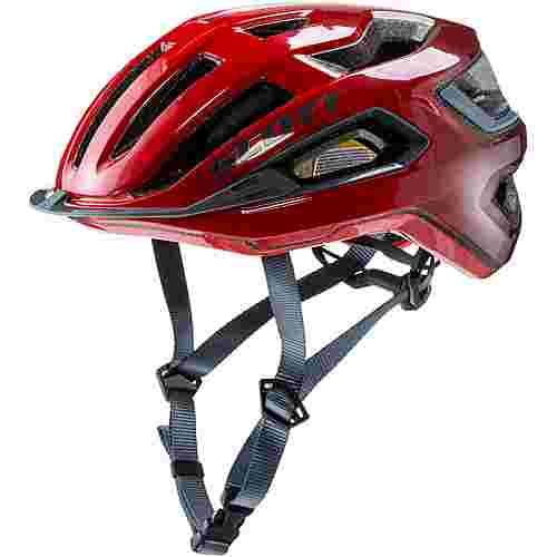 SCOTT SCO Helmet Arx Plus (CE) Fahrradhelm fiery red-storm grey
