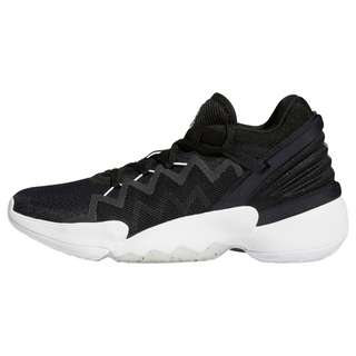 adidas D.O.N. Issue #2 Schuh Sneaker Herren Core Black / Cloud White / Sky Tint
