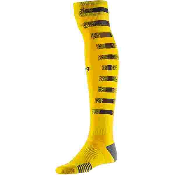 PUMA Borussia Dortmund 20-21 Heim Stutzen cyber yellow-puma black