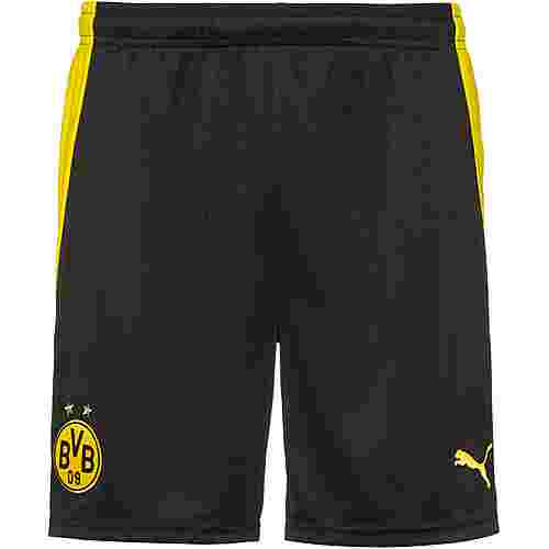 PUMA Borussia Dortmund 20-21 Heim Fußballshorts Herren puma black-cyber yellow