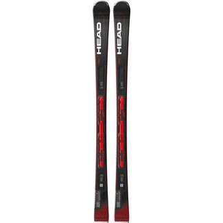 HEAD Supershape e-Rally SW SF-PR + PRD12 GW All-Mountain Ski schwarz-rot