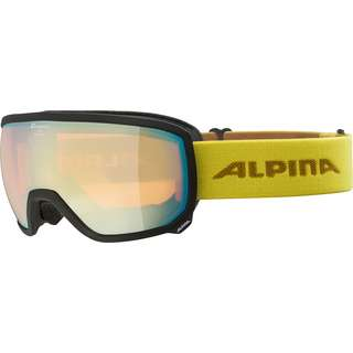 ALPINA SCARABEO HM Skibrille black-curry