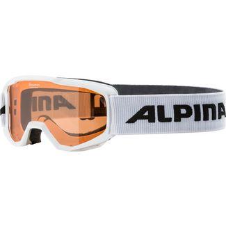 ALPINA ALPINA PINEY Skibrille Kinder white