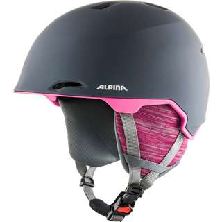 ALPINA MAROI Skihelm grey-pink matt