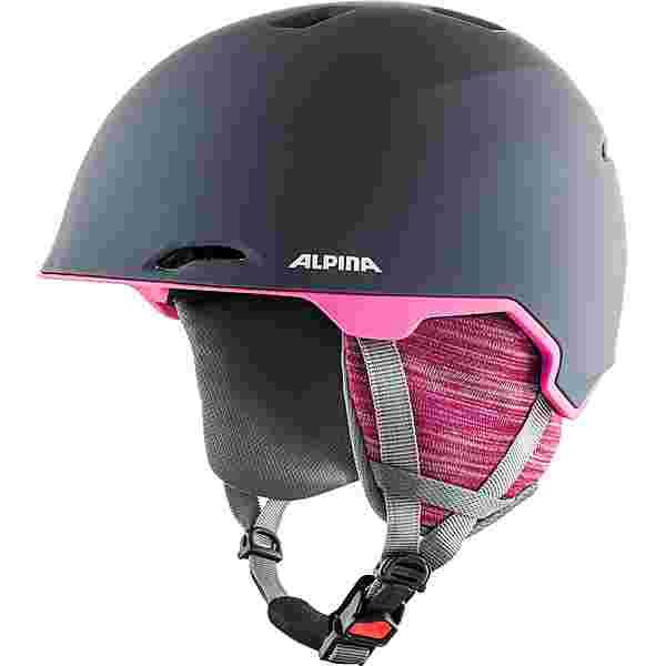 ALPINA MAROI Skihelm grey-pink matt