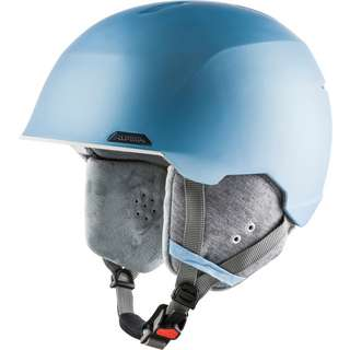 ALPINA ALBONA Skihelm skyblue-white matt