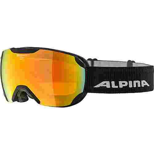 ALPINA PHEOS S QHM Skibrille black matt