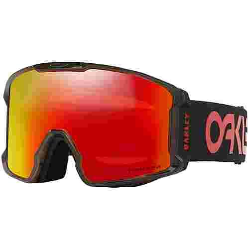 Oakley LINE MINER XL Skibrille scotty james sig crystal black