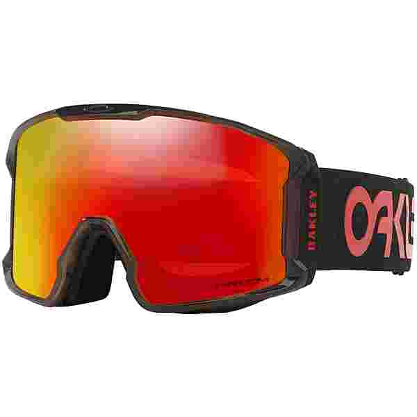 Oakley LINE MINER XL Skibrille scotty james sig crystal black
