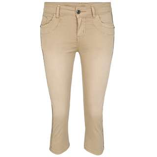 Blue Monkey Joie 10443 Straight Fit Jeans Damen beige