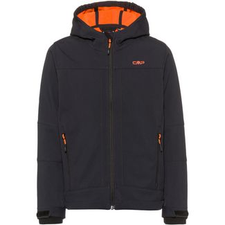 CMP Softshelljacke Kinder antracite-orange fluo
