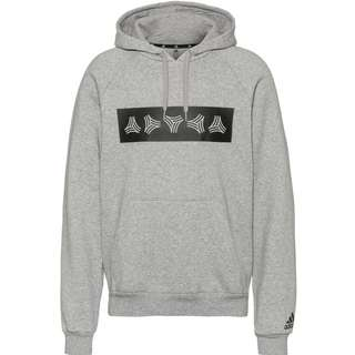 adidas Tango Hoodie Herren medium grey heather