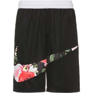 Nike Floral Shorts Herren black-white