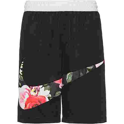 Nike Floral Shorts Herren black-white
