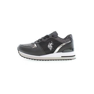 U.S. Polo Assn. Tuzla2 Glitter Sneaker Damen black