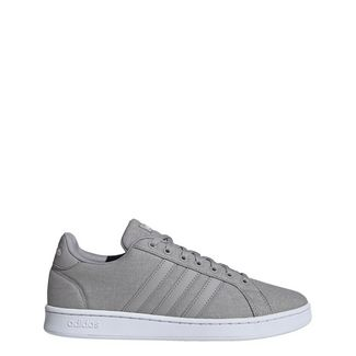 adidas Grand Court Schuh Sneaker Herren Light Granite / Light Granite / Orbit Grey