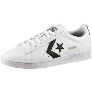 CONVERSE Pro Leather OX Sneaker Herren white-black-white