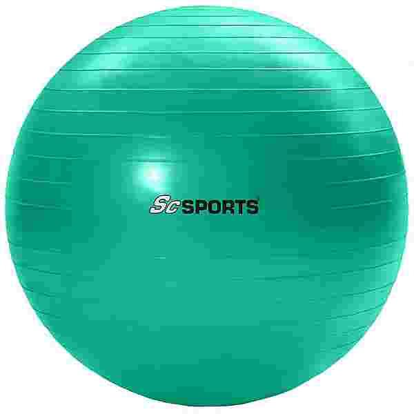 ScSPORTS Gymnastikball  65 cm Gymnastikball grün
