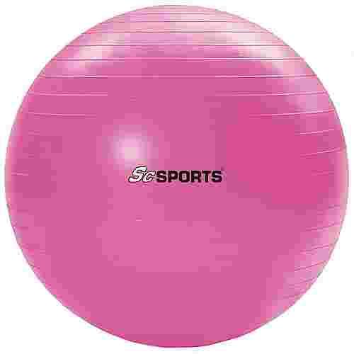 ScSPORTS Gymnastikball  65 cm Gymnastikball pink