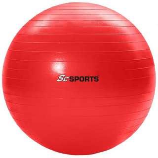 ScSPORTS Gymnastikball  65 cm Gymnastikball rot