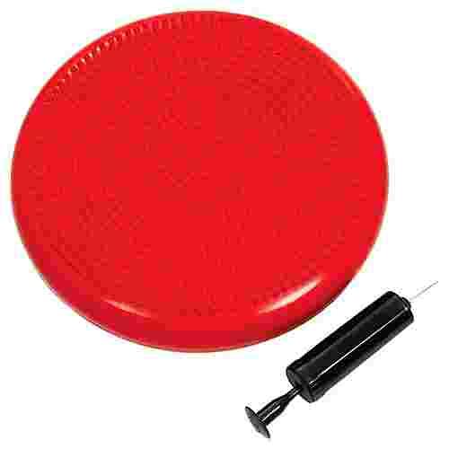 ScSPORTS Pilates Luftpad mit Pumpe Pilates Ball rot