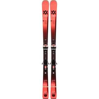 Völkl DEACON 80 LR +LOWRIDE XL 13 FR D GW All-Mountain Ski rot-schwarz