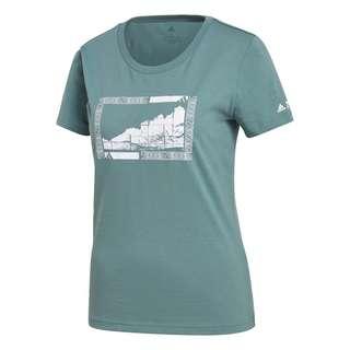 adidas TERREX Graphic T-Shirt T-Shirt Damen Grün