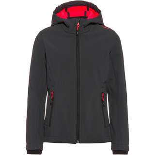 CMP Softshelljacke Kinder antracite-red fluo