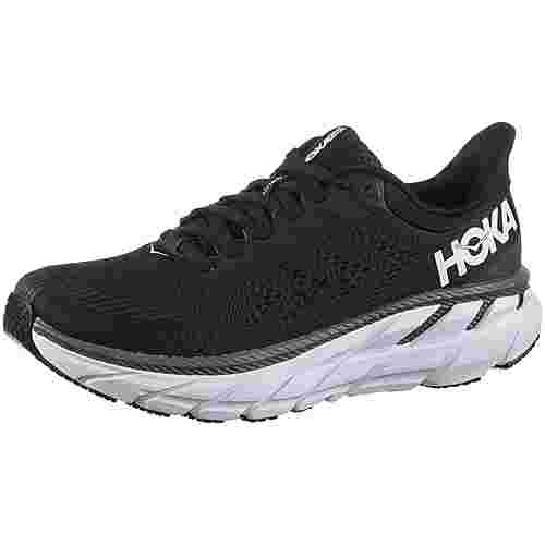 Hoka One One Clifton 7 Laufschuhe Damen black-white