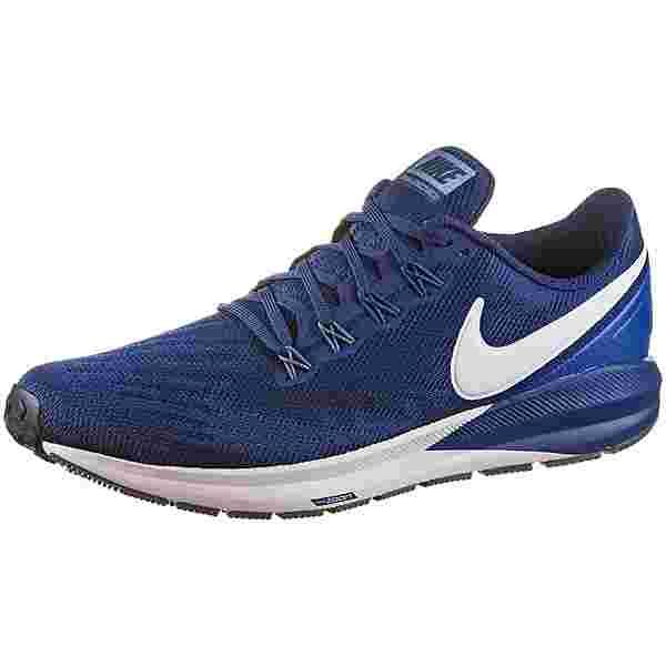 Nike AIR ZOOM STRUCTURE 22 Laufschuhe Herren blue void-vast grey-gym blue-diffused blue