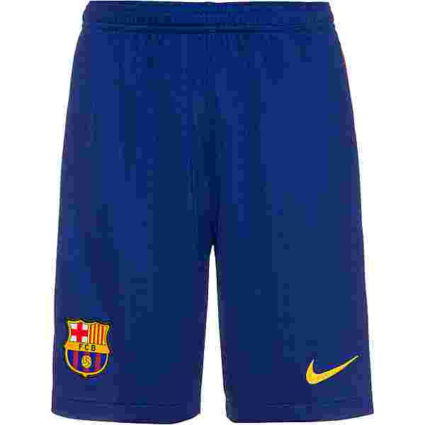 Nike FC Barcelona 20-21 Heim Fußballshorts Kinder deep royal blue-varsity maize