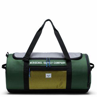 Herschel Sutton Carryall Umhängetasche Herren dunkelgrün / grau