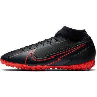 Nike Mercurial Superfly 7 Academy TF Fußballschuhe black-black-dk smoke grey