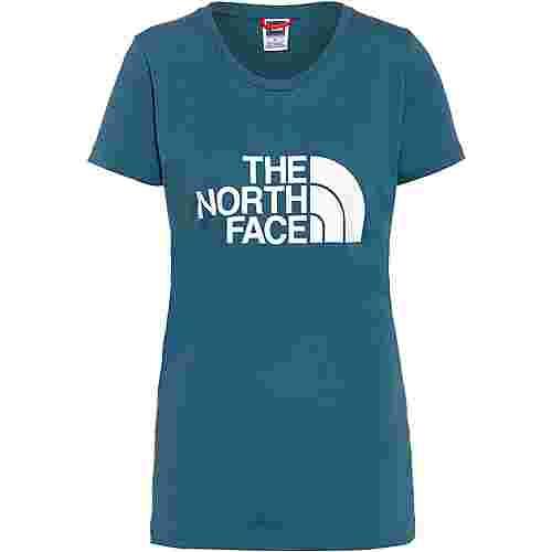 The North Face EASY T-Shirt Damen MALLARD BLUE