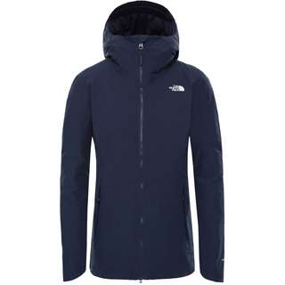 The North Face Hikesteller Insulated Regenmantel Damen URBAN NAVY/TNF WHITE