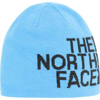 The North Face Revisible Banner Wendemütze clear lake blue-tnf black