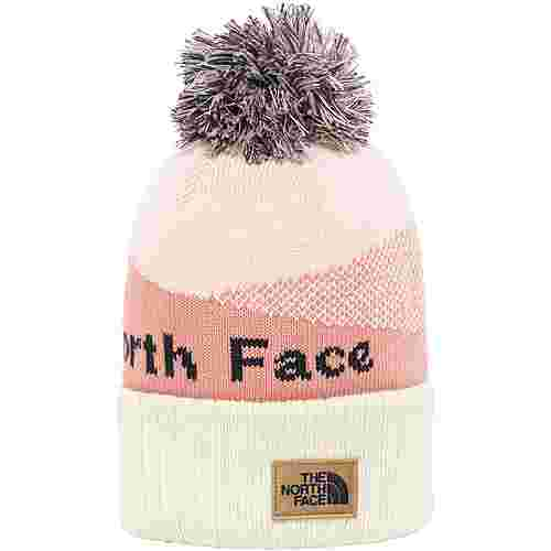The North Face POM POM Bommelmütze pink clay