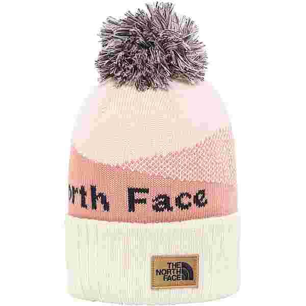 The North Face POM POM Bommelmütze pink clay