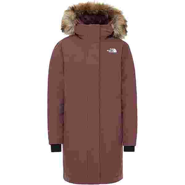 The North Face ARCTIC Daunenmantel Damen marron purple