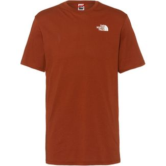 The North Face REDBOX T-Shirt Herren brandy brown/tnf white