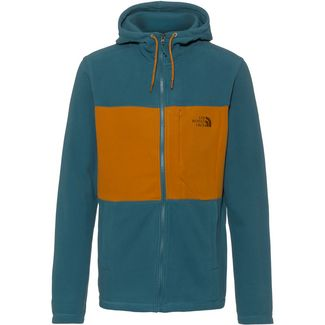 The North Face BLOCKED Fleecejacke Herren mallard blue/timber tan