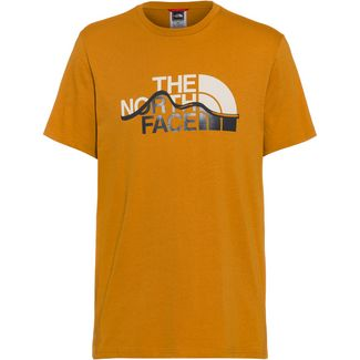 The North Face MOUNT LINE T-Shirt Herren timber tan