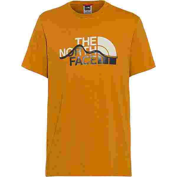 The North Face MOUNT LINE T-Shirt Herren timber tan